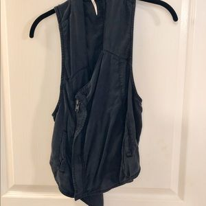 FREE PEOPLE ASYMETRICAL VEST